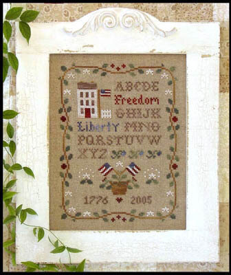 Americana Sampling - Cross Stitch Pattern