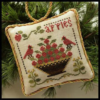 Sweet Apples (Sampler Tree) - Cross Stitch Pattern