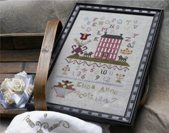 Eliza Ann Scott 1847 - Cross Stitch Pattern