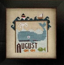Joyful Journal - August - Cross Stitch Pattern