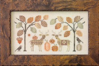 Deer Friends - Cross Stitch Pattern