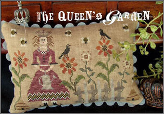 Queen's Garden, The - Cross Stitch Pattern