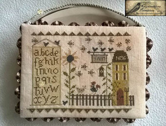 A Sampler Farm - Cross Stitch Pattern