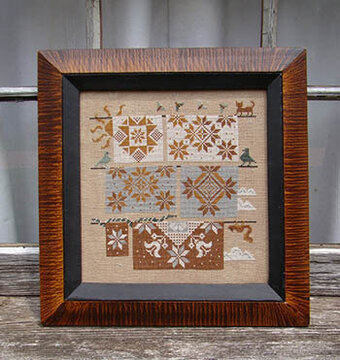Quaker Quilts - Cross Stitch Pattern