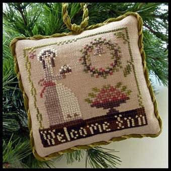 Welcome Inn (Sampler Tree) - Cross Stitch Pattern