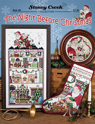 The Night Before Christmas - Cross Stitch Pattern