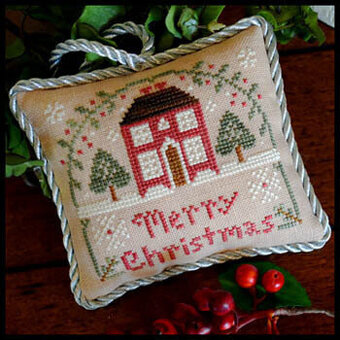 Merry Christmas (Sampler Tree) - Cross Stitch Pattern