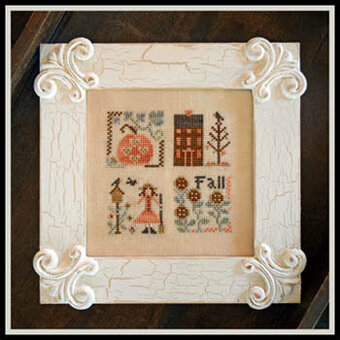 Fall Squared - Cross Stitch Pattern