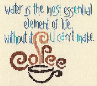 Water Essential - Cross Stitch Pattern