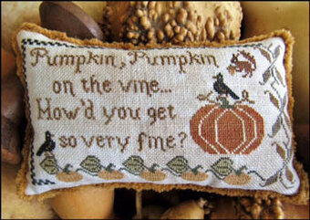 Pumpkin Pumpkin - Cross Stitch Pattern