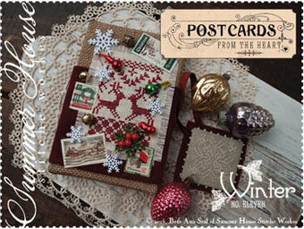 Postcards From the Heart 11 - Winter - Cross Stitch Pattern
