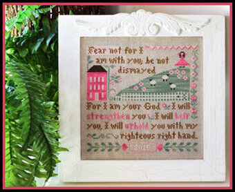 Fear Not - Cross Stitch Pattern