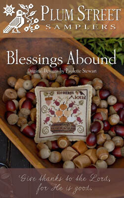 Blessings Abound - Cross Stitch Pattern