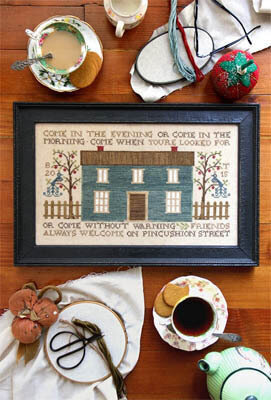 Pincushion Street - Cross Stitch Pattern