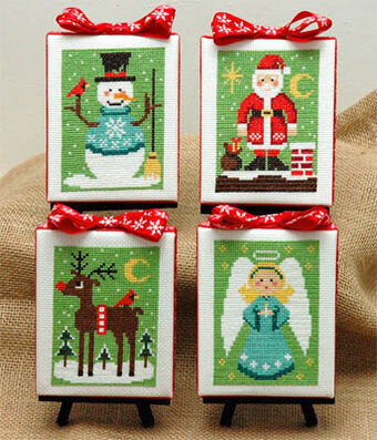 Christmas Cuties - Cross Stitch Pattern