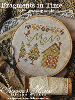Fragments in Time 7 - Cross Stitch Pattern