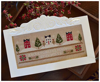 Three Snowy Hills - Cross Stitch Pattern