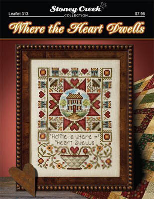Where the Heart Dwells - Cross Stitch Pattern