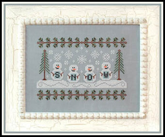 Snowmen - Cross Stitch Pattern