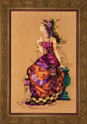 Gypsy Queen - Cross Stitch Pattern