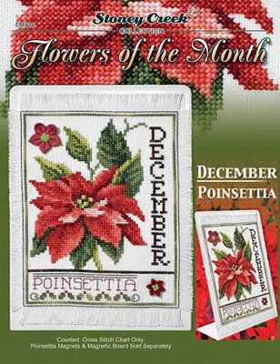 Flowers of the Month December - Cross Stitch Pattern
