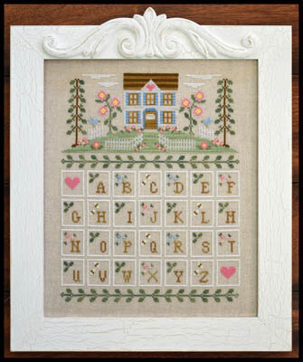 Cottage Alphabet - Cross Stitch Pattern