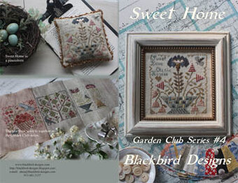 Sweet Home - Garden Club 4 - Cross Stitch Pattern