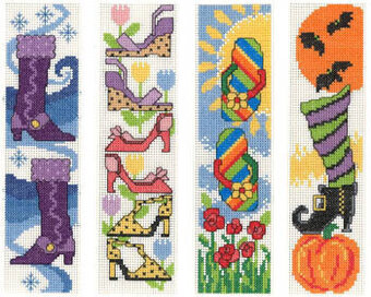 Shoes for all Seasons - Cross Stitch Pattern