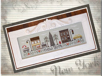 Afternoon in New York - Cross Stitch Pattern