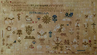 Patronilla Arandes 1834 - Cross Stitch Pattern