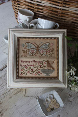 Butterfly Garden - Garden Club #5 - Cross Stitch Pattern