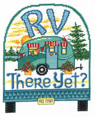 RV There Yet? - Cross Stitch Pattern