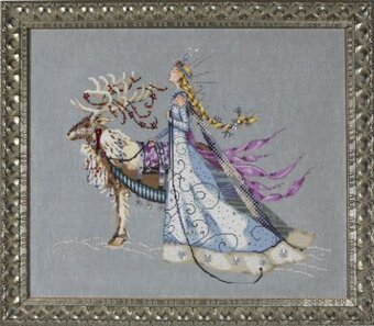 Snow Queen, The - Cross Stitch Pattern
