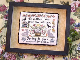 Spring is Hare - Cross Stitch Pattern