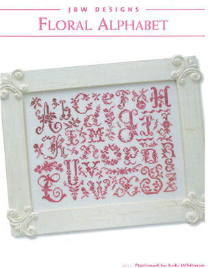 Floral Alphabet - Cross Stitch Pattern