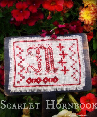 Scarlet Hornbook - Cross Stitch Pattern