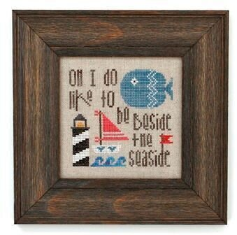 What do you Fancy - Beside the Seaside- Cross Stitch Pattern
