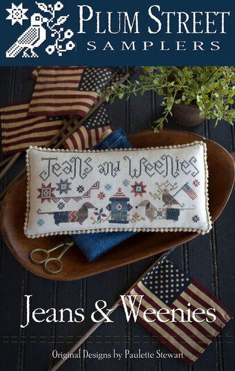 Jeans and Weenies - Cross Stitch Pattern