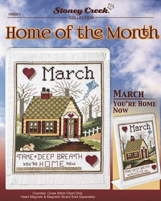 Home of the Month - March - Cross Stitch Pattern