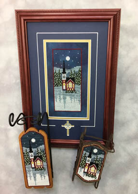 River Road Church - Cross Stitch Pattern