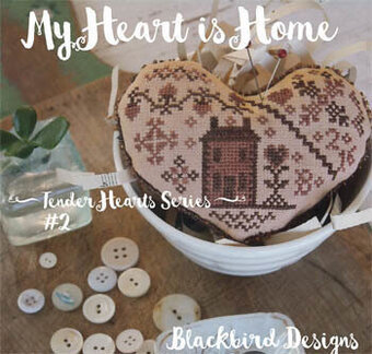 My Heart is Home - Cross Stitch Pattern