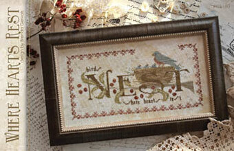 Where Hearts Rest - Cross Stitch Pattern