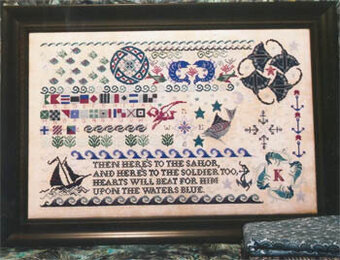 Seaside Sampler - Cross Stitch Pattern