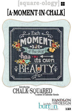 Chalk Squared - Moment in Chalk - Cross Stitch Pattern