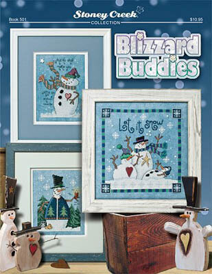 Blizzard Buddies - Cross Stitch Pattern