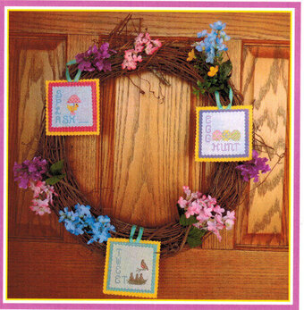 Spring Trio - Cross Stitch Pattern