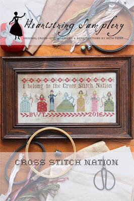 Cross Stitch Nation - Cross Stitch Pattern