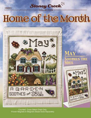 Home of the Month - May - Cross Stitch Pattern