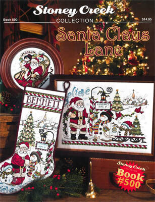 Santa Claus Lane - Cross Stitch Pattern