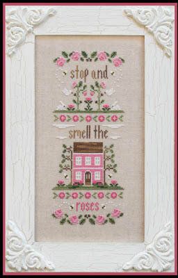 Stop And Smell The Roses - Cross Stitch Pattern